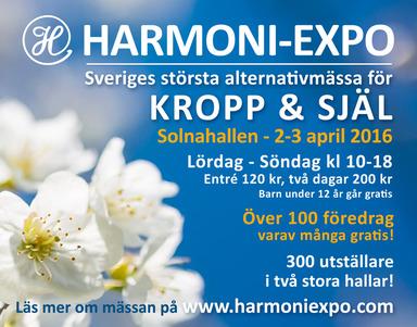 HARMONI-EXPO 2-3 april 2016