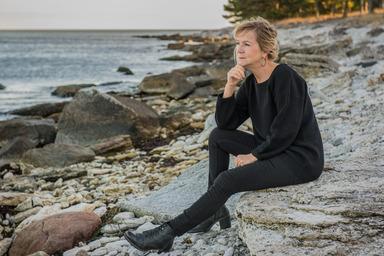 Ing-Mari Janzon Andershed, vid Furillen, Gotland