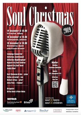 Soul Christmas 2019. Formgivare: Jörgen Melin.