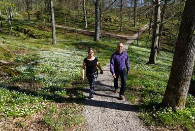 Sofia Ström och David Alfredsson, Bild: Uddevalla Kommun