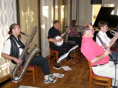 Maritime Stompers – Jazzkonsert med husbandet Maritime Stompers