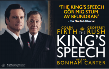The King's Speech –