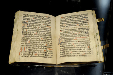 Gutenbergs bibel. Foto: brandbook.de CC BY-SA