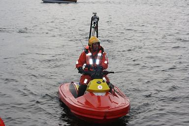 Sjöräddare i Vaxholm. Foto: KajLehtinen. CC (BY-NC)