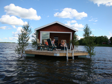 Bastuflotten på Svedängs Gård