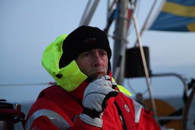 På s/y Tootiki vinterseglingen 2010. Foto: Thomas Lundgren.