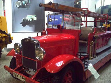 En annan brandbil, äldre än Mårtens. Foto: Jonsson. CC-BY.