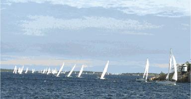 Kustdistansen, en ny kappsegling för 2013. Full fart!
