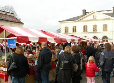 Julmässa på Drottningholm 2013. Foto: Sv. Slottsmässor.