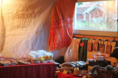 Julmarknad hos Jeanette. Foto: Deeped & Amanda Strand CC-BY