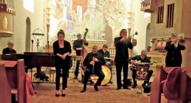 Jesses New Orleans Band med Isabella Lundgren
