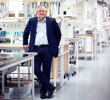 Professor i Miljökemi Åke Bergman
