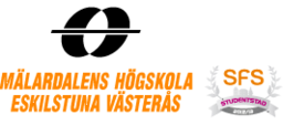 Mälardalens högskola - Tillväxtmotorns logotyp