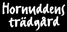 Hornuddens trädgårds logotyp