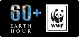 WWF Earth Hour - lördagen 29/3 20.30-21.30s logotyp