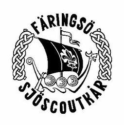 Färingsö Sjöscoutkårs logotyp