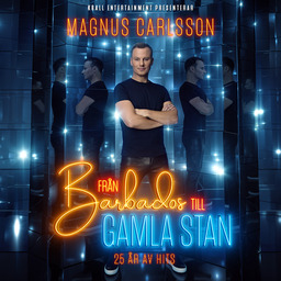 Magnus Carlsson - Från Barbados till Gamla Stans logotyp