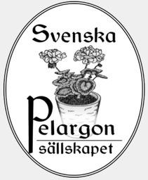 Pelargonsällskapet i Stockholms logotyp