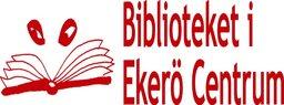 Biblioteket i Ekerö Centrums logotyp