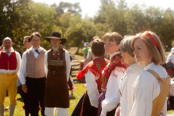 Folkdansare. Foto: Robin Iversen Rönnlund CC (BY)
