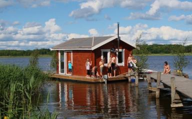 Bastuflotten på Svedängs Gård.