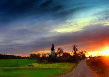 Färentuna Kyrka. Foto: Per Ola Wiberg CC-BY