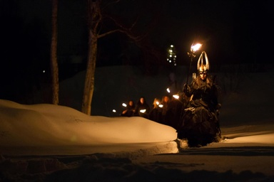 Midvinterglöd 2012: Lucia i folktron. Foto: Daniel Funseth.