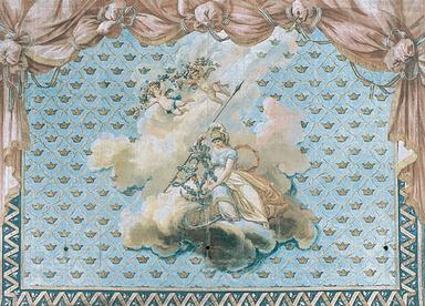 Ridån på Drottningholms Slottsteater