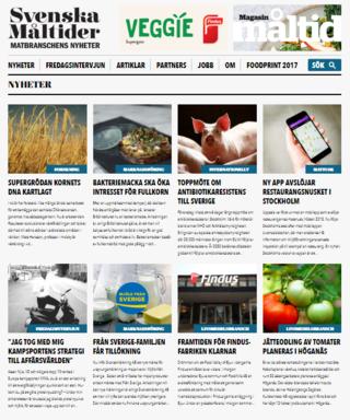 Nyhetssajten svenskamaltider.se