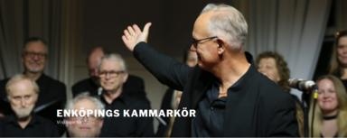 Enköpings Kammarkör under ledning av dirigent Peter Melin